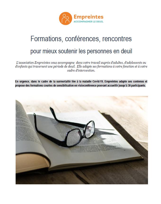 Catalogue des Formations